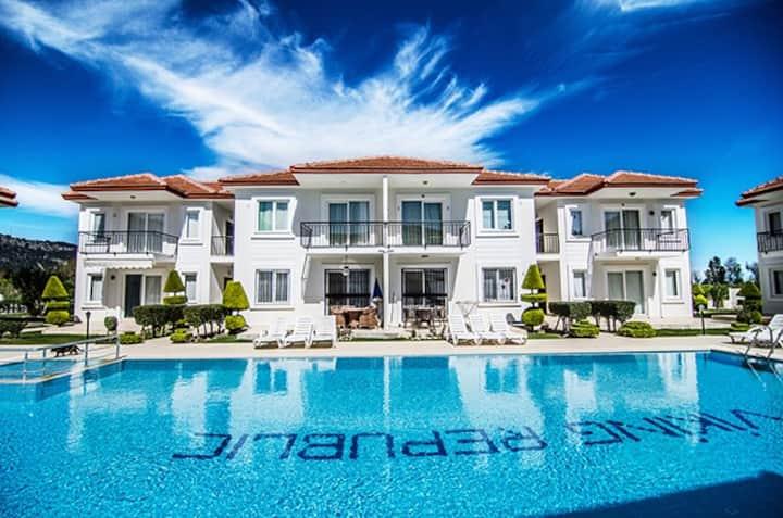 2+1 Flat for rent in Kemer Antalya 1490/B -5