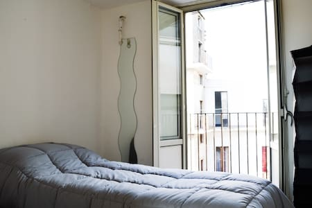 Colapesce-Single room in Catania Center - Катания - Квартира
