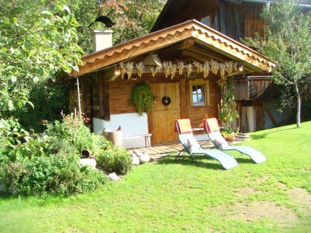 Hüttenappartement mit Saunaalm - Alpbach - Blockhütte