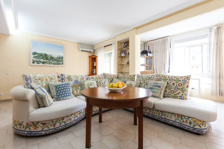 FERIA. Great and Spacious Apartment. Triana. - Sevilha - Apartamento