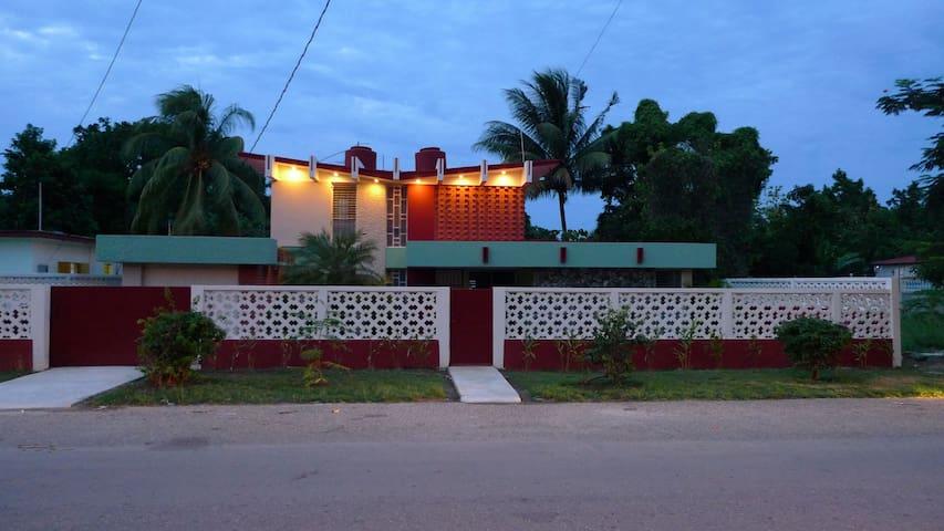 Flamboyanes House. Cojimar 60's