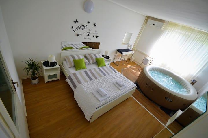 Apartment Zagreb Jacuzzi