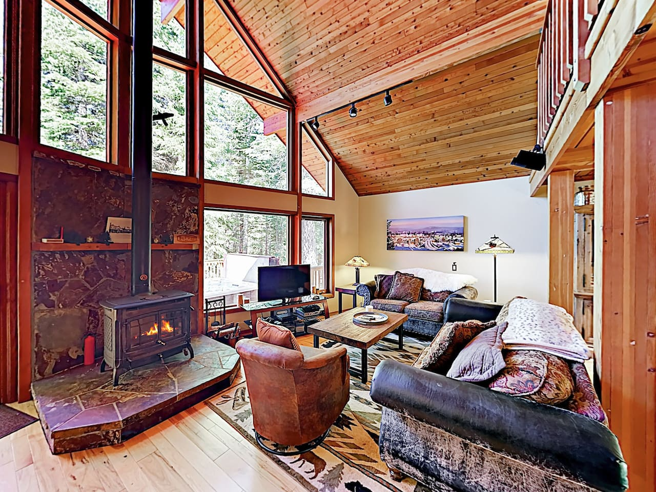 Welcome to Truckee! This luxury cabin is professionally managed by TurnKey Vacation Rentals.
