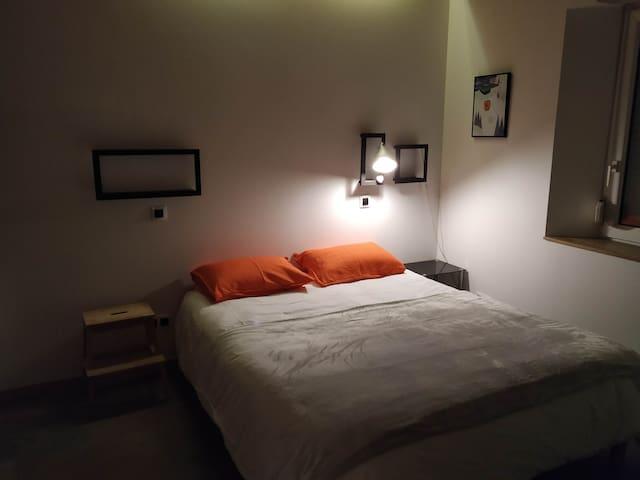 Chambre, lit 160 x 200