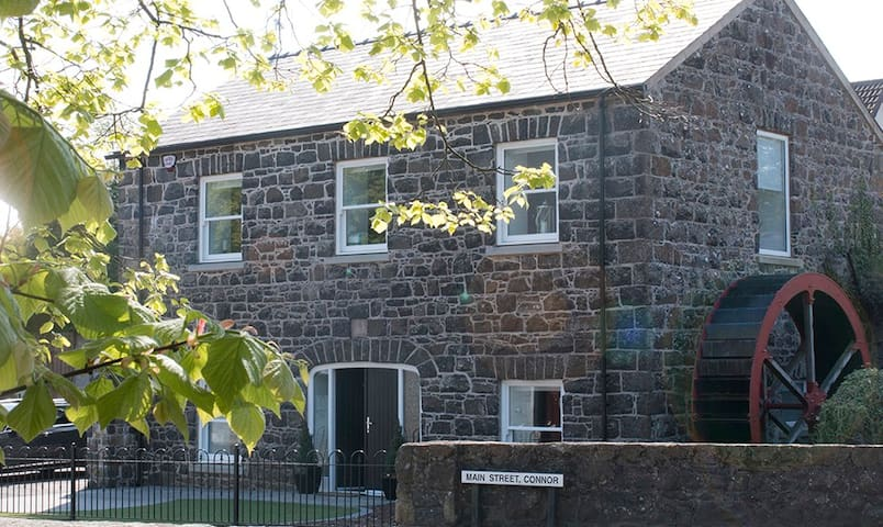 Stone Flax Mill Lovingly Restored