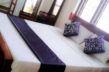 Double Room with AC - Private Bathroom + Hot Water