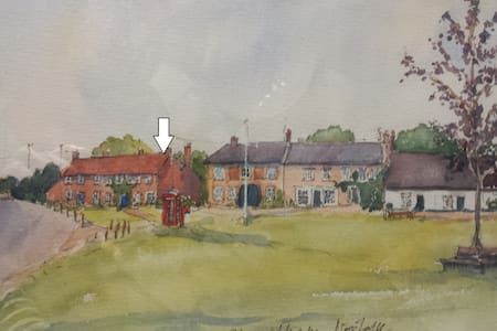 Cosy cottage on village green - Shouldham - Rumah
