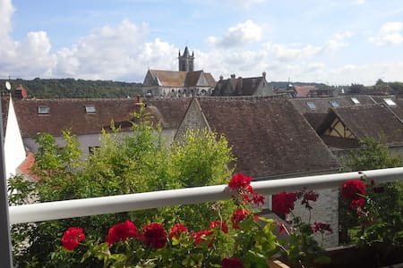 Lovely cosy house + private garden - Moret-sur-Loing