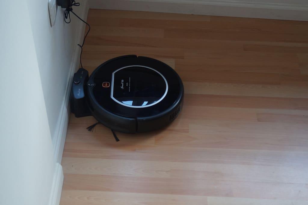 Robot limpia piso