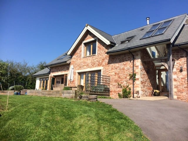 Stunning family home nr Wells- views & garden - Draycott - Casa