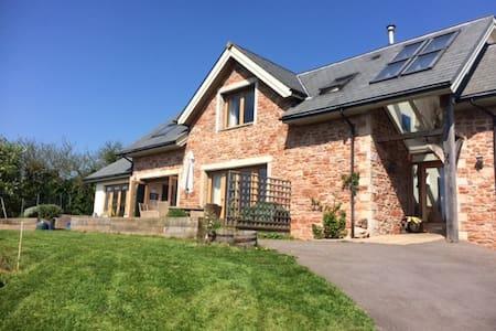 Stunning family home nr Wells- views & garden - Draycott - Haus