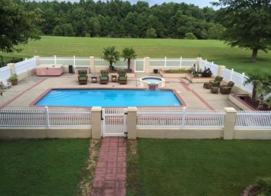 Our private pool