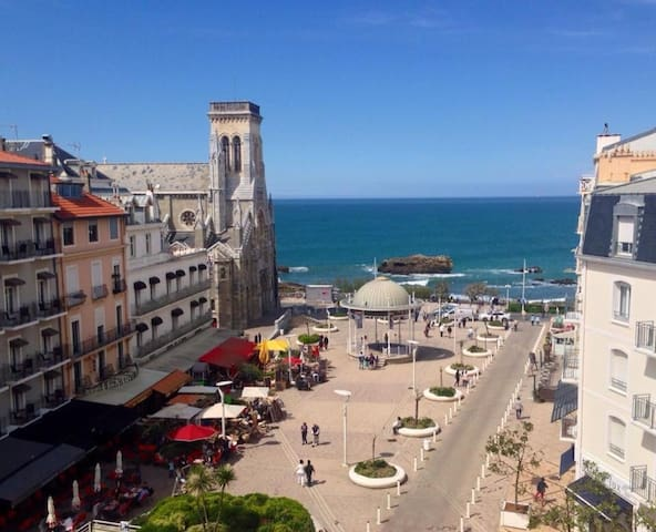 L'APPART BIARRITZ St-EUGENIE, 100m2 for 8 seaside - Biarritz - Pis