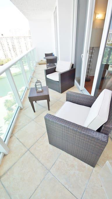 Balcony + Patio set