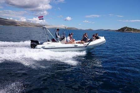 Rubber boat for cruises - Pakoštane - Boat