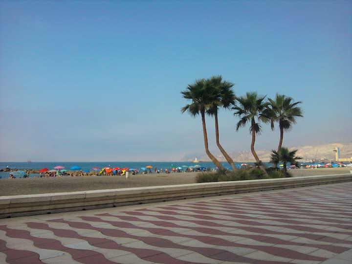 Chambre double à 3min de la plage