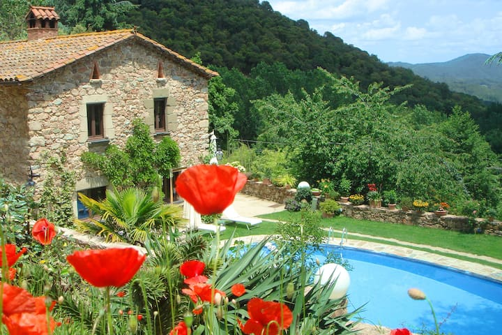 Country House in Natural Park - Arbúcies - Huis