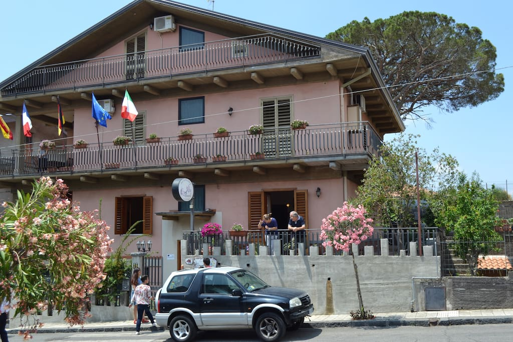 la casa dove e collocato il Bed And breakfast