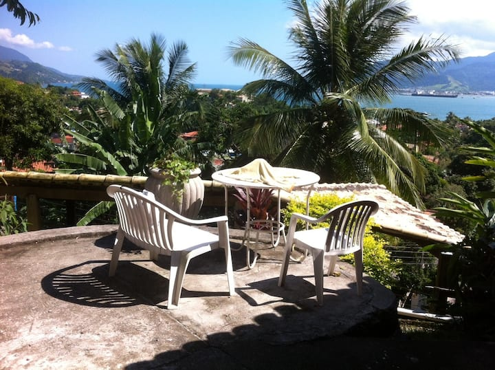 Casa Ilhabela com Vista para o Mar e WIFI