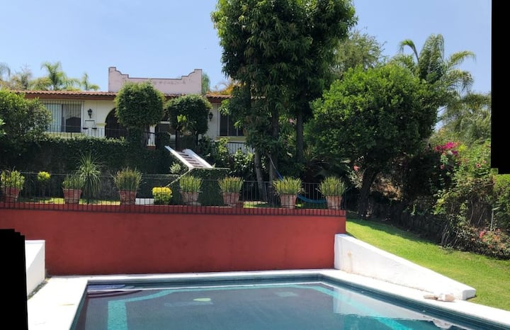 Casa La Cibeles - Cuernavaca -Ideal Grupos Grandes