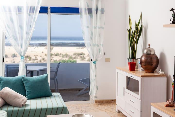 La Puntilla II, apartamento frente al mar