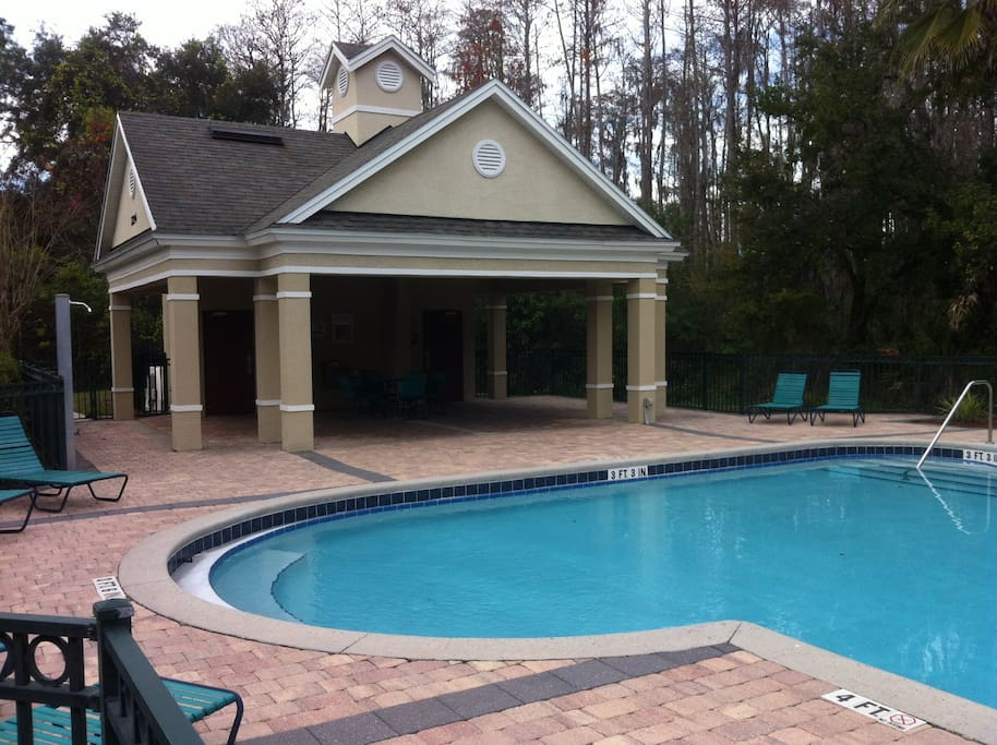 1 of 4 pools at the resort for your enjoyment!