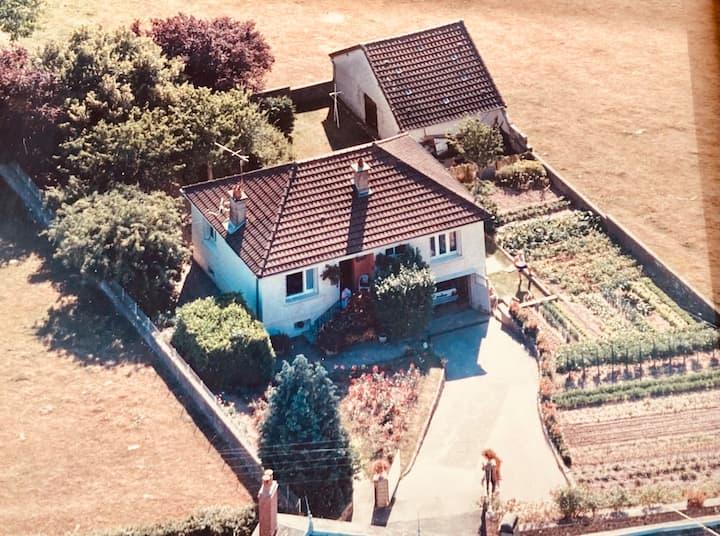 La maison des roses en Morvan