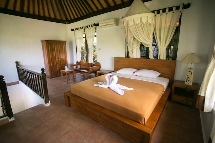 Ubud Room, Nature View, Spring water, Central R4