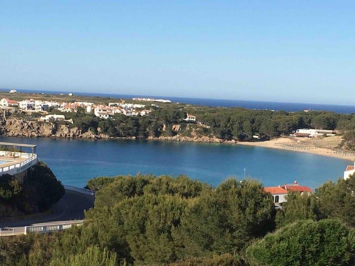Apart junto a la playa vistas al mar piscina wifi