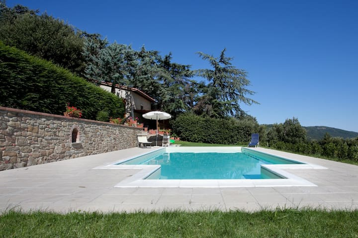 Casa Cristina in beautiful location with pool - Camucia - Chalet
