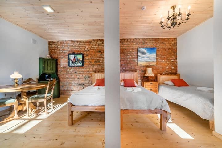 Room no.2 (triple) - guesthouse SVILPAUNIEKI