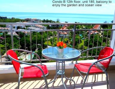 12th floor condo great sea views - Cha-am - Kondominium