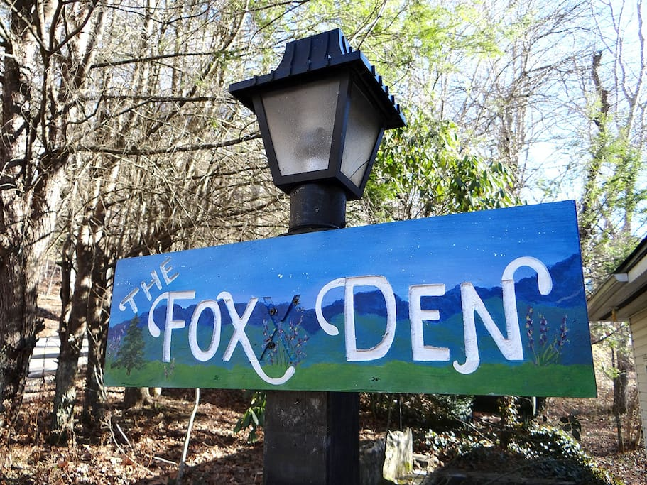 Welcome to The Fox Den!