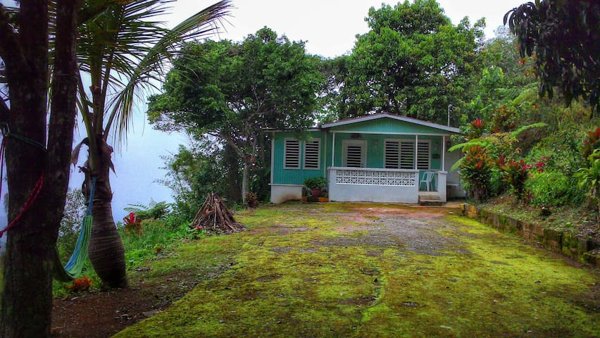 Caribbean Sea View Mountain House! - Ponce - Casa