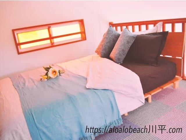 ALOALO BEACH Kawahira Loft type cottage 1~3 person