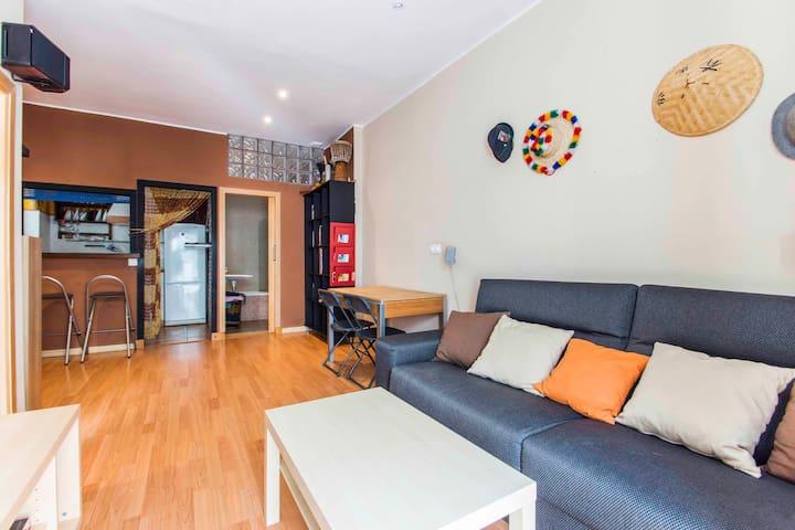 PRECIOSO Y ORIGINAL APARTAMENTO - Cádiz - Lägenhet