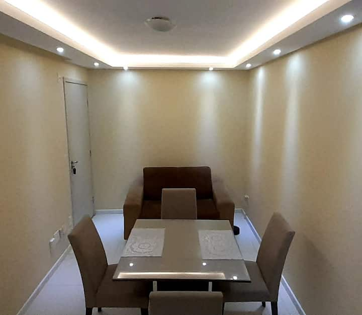 Apartamento lindo com um quarto único a seu dispor