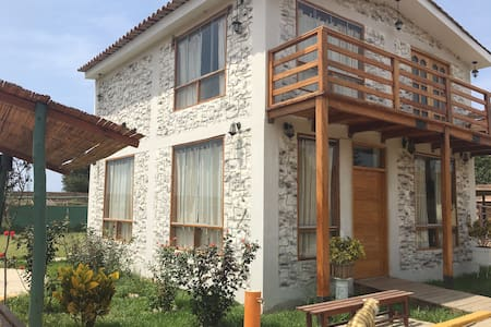 Beautiful Cottage House into the Moche Village