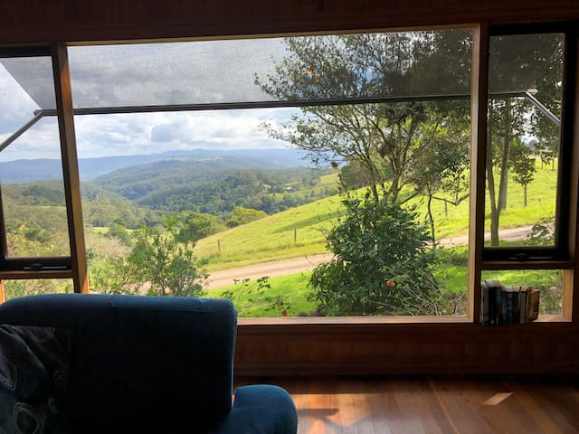 More..…  captivating views from top cottage. Looking southwest from the living area.
