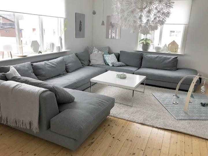 Spacious,comfortable house in the centre of Kiruna