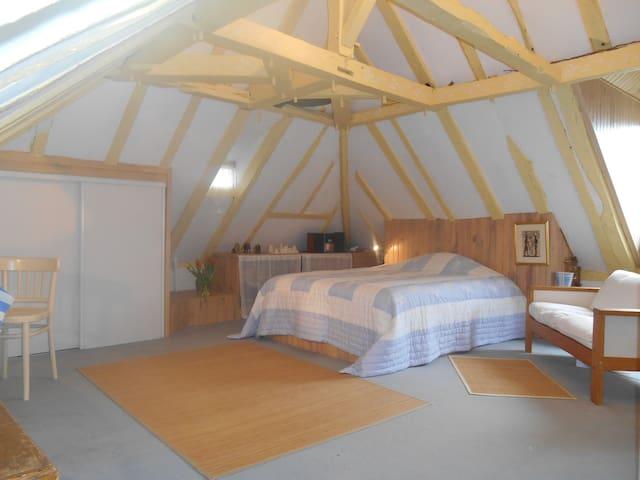 Character private room in farmhouse - Jurançon - Rumah