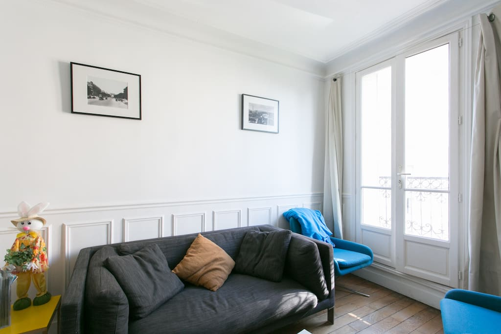 Montparnasse nice 40m apartments for rent in paris le de france france - Airbnb paris montparnasse ...