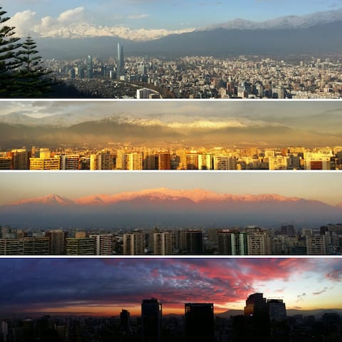 Discover Santiago and feel like at Home :-)