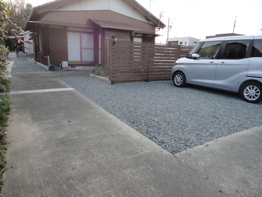 駐車場(車3台、ゲスト共用) Parking(Guests can share common space for three cars)