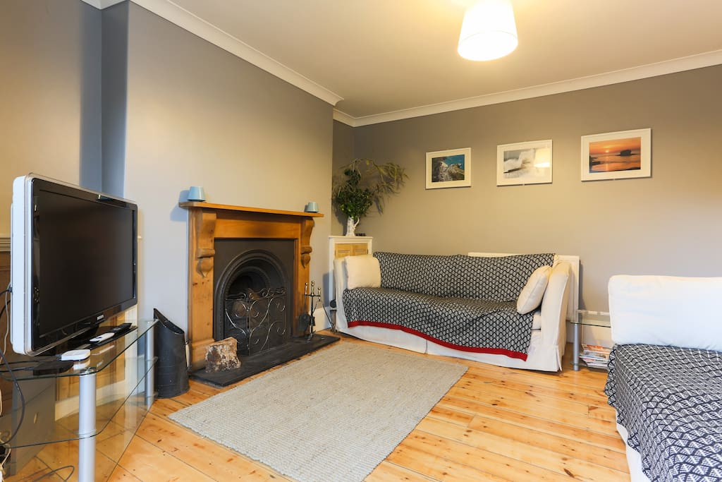Reception room 1 - With its cosy open fireplace