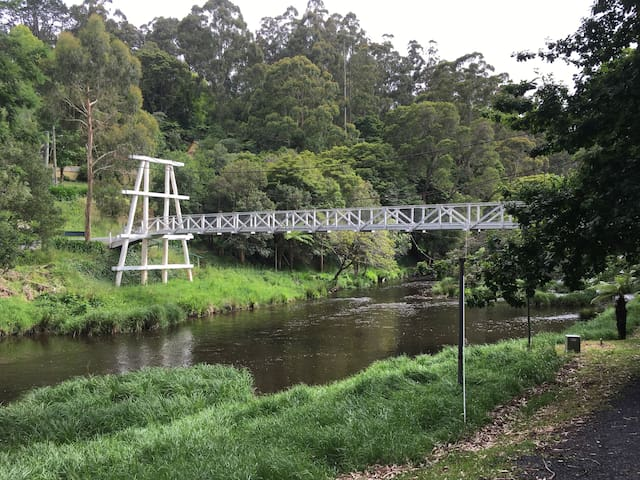 The swing bridge.