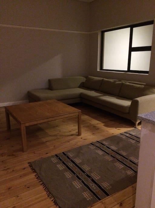 Large open plan lounge