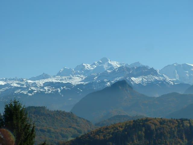 Joli gîte à la montagne en Haute-Savoie - Onnion - Casa