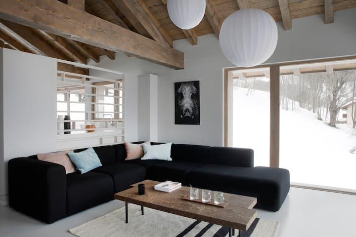 Chalet 4, Home by U, design, 5 FLocons or