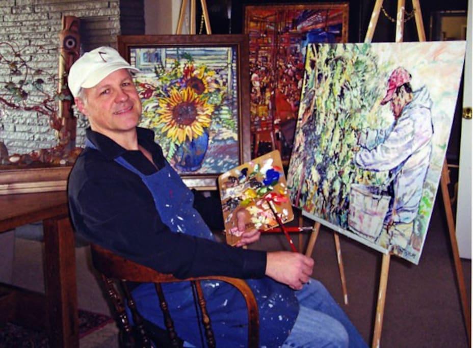 "Jeffrey Hill - Walla Walla's ""Vineyard van Gogh"""